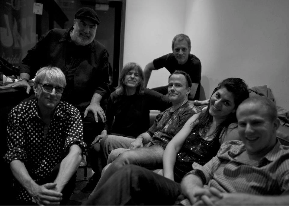 Backstage at the Blue Note NY with Will Lee, Mike Stern, Dave Weckl, Randy & Ada Brecker and Oli Rockberger, 2010