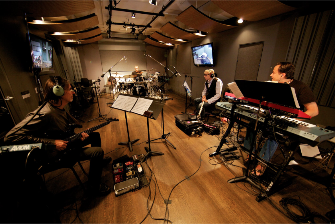 "Recording the ""Brecker Bros. Reunion"" CD in NY, 2010"